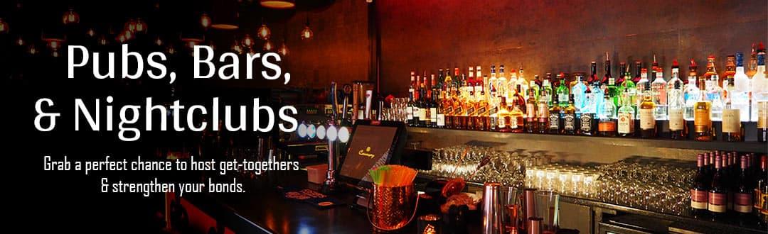 Bars, Pubs, Nightclubs