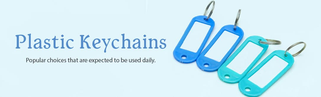 Personalized Plastic Key Chains