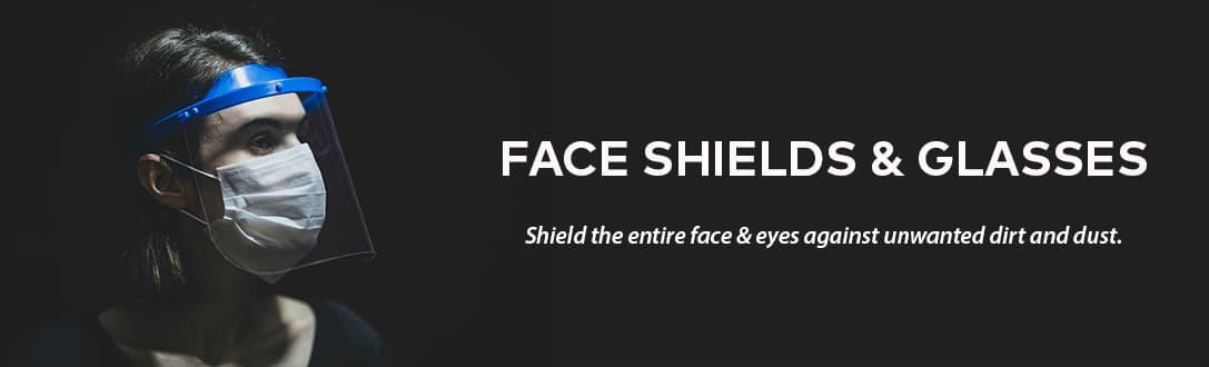 Face Shield & Glasses