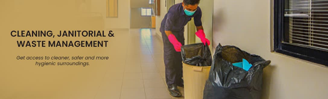 Cleaning, Janitorial & Waste Management