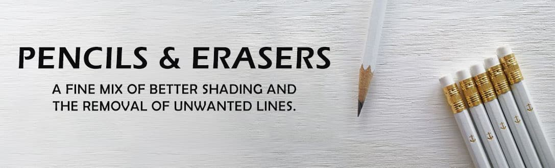 Custom Pencils & Erasers