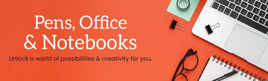 Custom Pen, Notebooks & Office Supplies