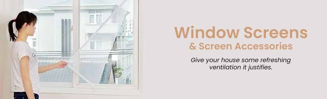 Window Screens & Screen Accessories